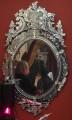 Зеркало с гравированным декором