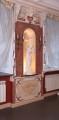 Настенное зеркало с фреской