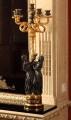 Канделябр «Рококо» с фигурами